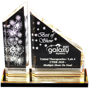 Galaxy Best of Show Trophy